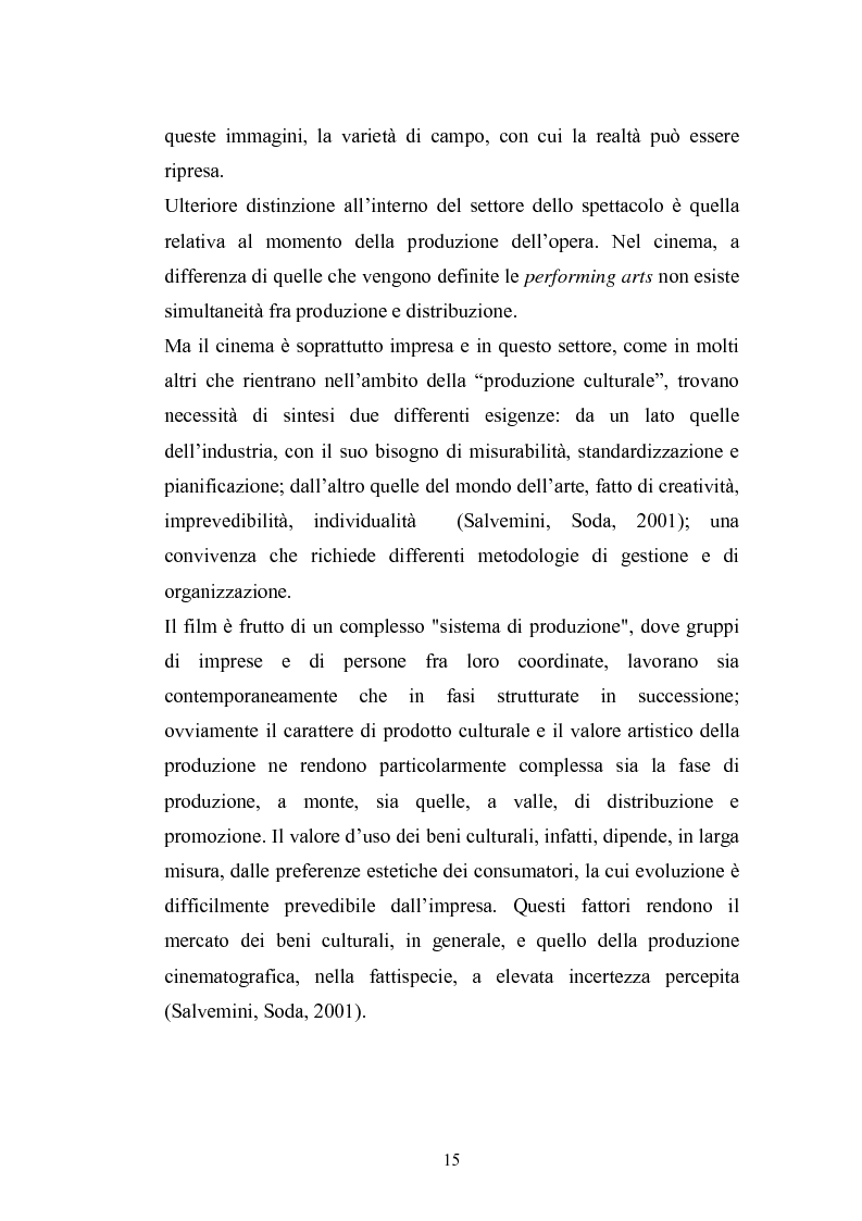 Anteprima della tesi: Il Cinema Digitale: un'opportunità per lo sviluppo della cinematografia, Pagina 10