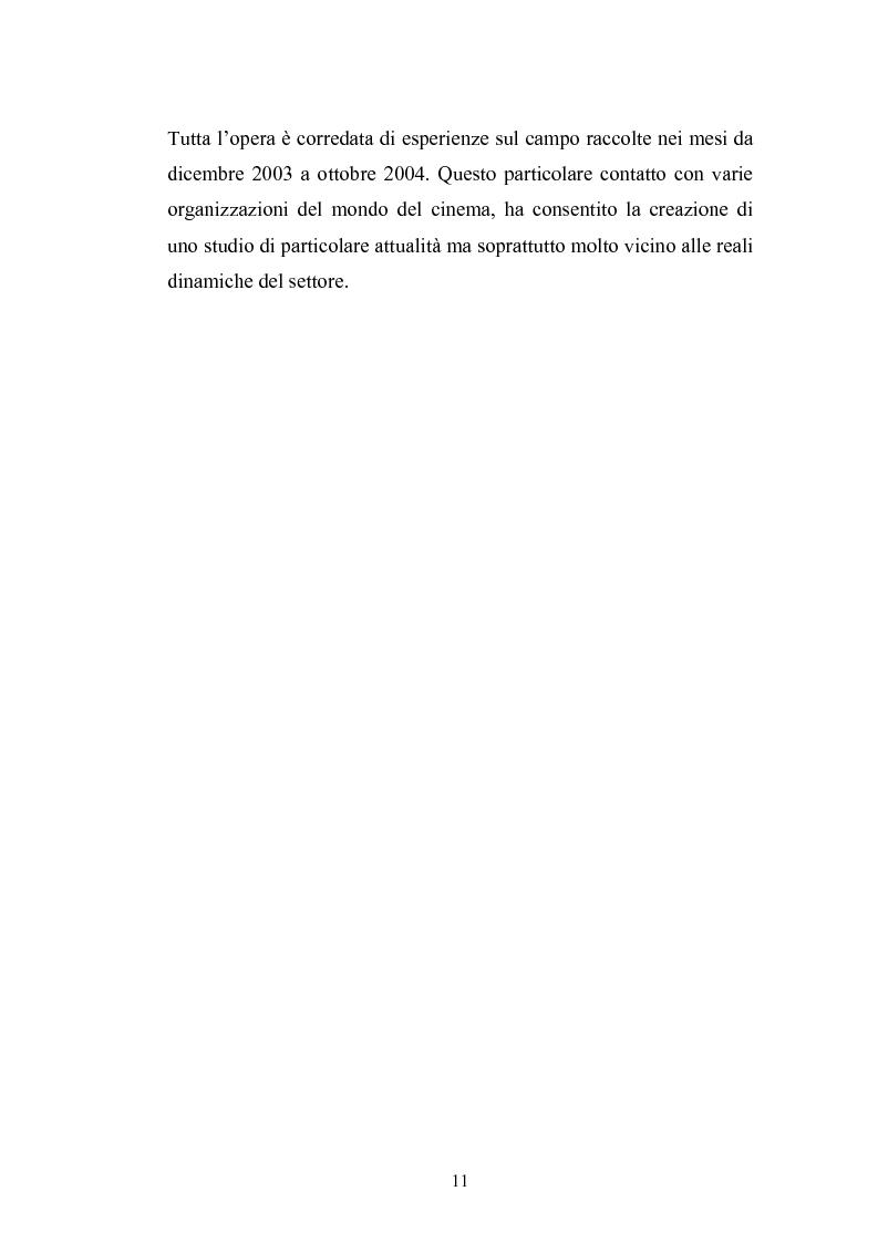 Anteprima della tesi: Il Cinema Digitale: un'opportunità per lo sviluppo della cinematografia, Pagina 7