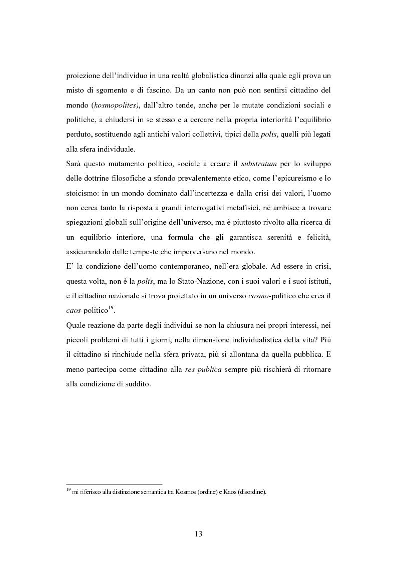 Anteprima della tesi: Antipolitica: una minaccia per la democrazia in Italia, Pagina 10