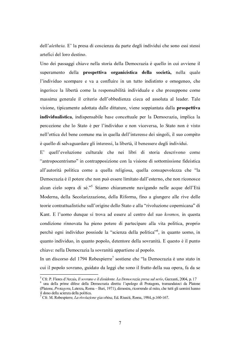 Anteprima della tesi: Antipolitica: una minaccia per la democrazia in Italia, Pagina 4