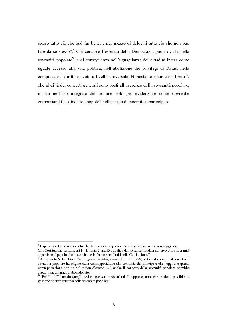 Anteprima della tesi: Antipolitica: una minaccia per la democrazia in Italia, Pagina 5