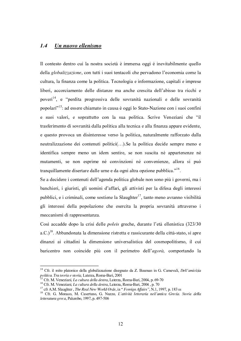 Anteprima della tesi: Antipolitica: una minaccia per la democrazia in Italia, Pagina 9