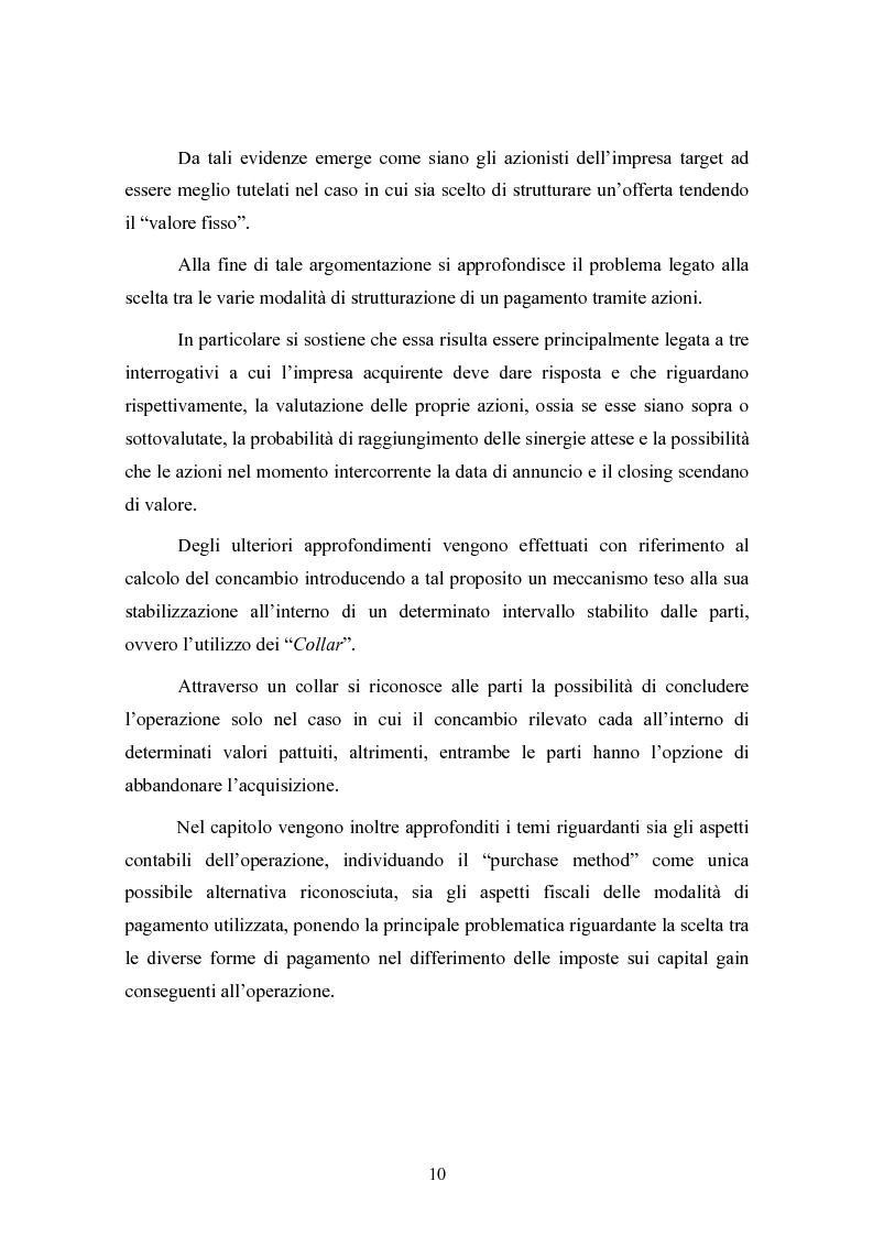 Anteprima della tesi: Le concentrazioni nel settore ICT: una analisi dei prezzi pagati da Tiscali, Pagina 10