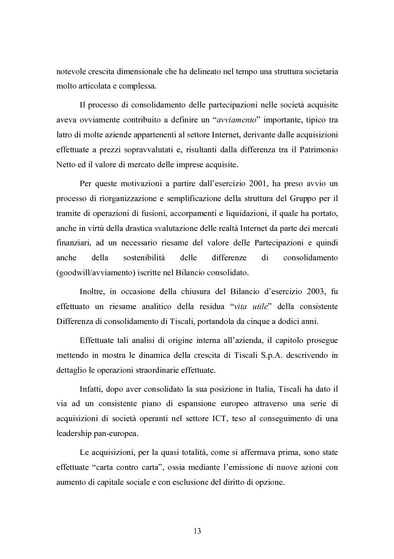 Anteprima della tesi: Le concentrazioni nel settore ICT: una analisi dei prezzi pagati da Tiscali, Pagina 13