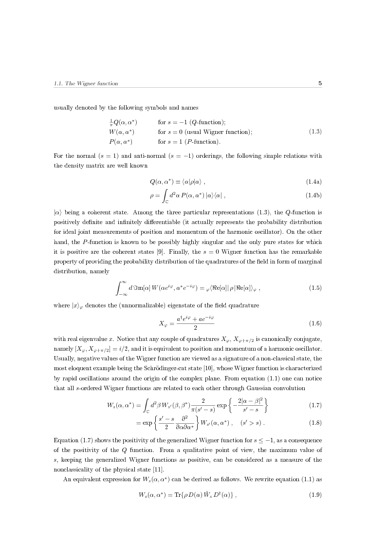 Anteprima della tesi: Effects of noise in continuous variables quantum communication and measurement, Pagina 6