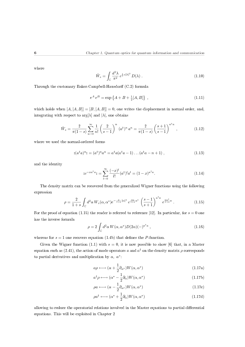 Anteprima della tesi: Effects of noise in continuous variables quantum communication and measurement, Pagina 7