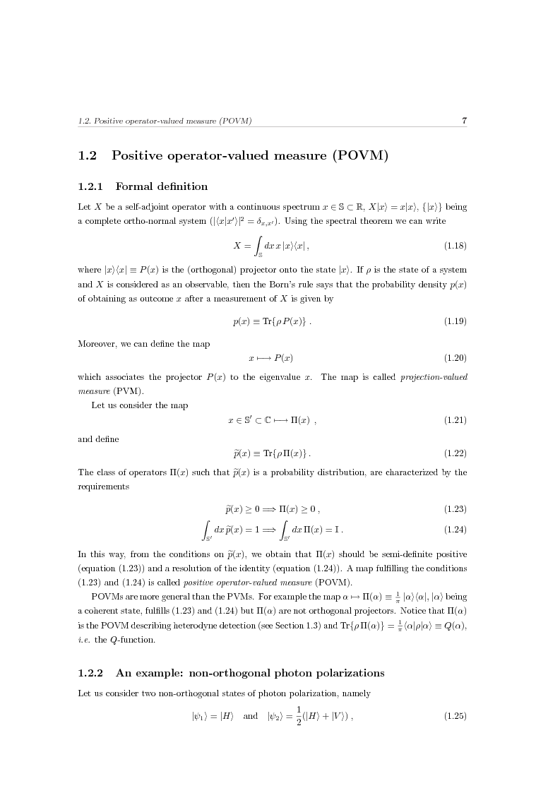 Anteprima della tesi: Effects of noise in continuous variables quantum communication and measurement, Pagina 8