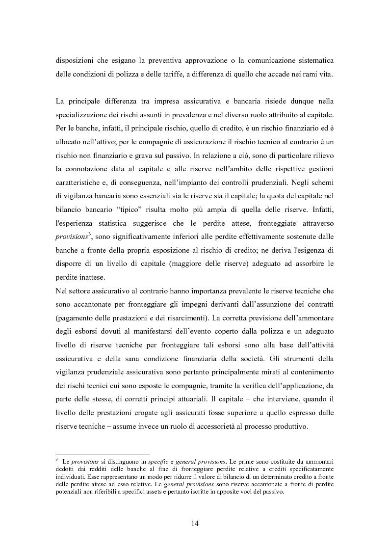 Anteprima della tesi: Stima del capitale sotto rischio di assicurazioni e banche: le nuove normative europee a confronto, Pagina 10