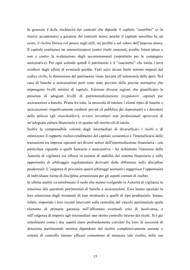 Anteprima della tesi: Stima del capitale sotto rischio di assicurazioni e banche: le nuove normative europee a confronto, Pagina 11