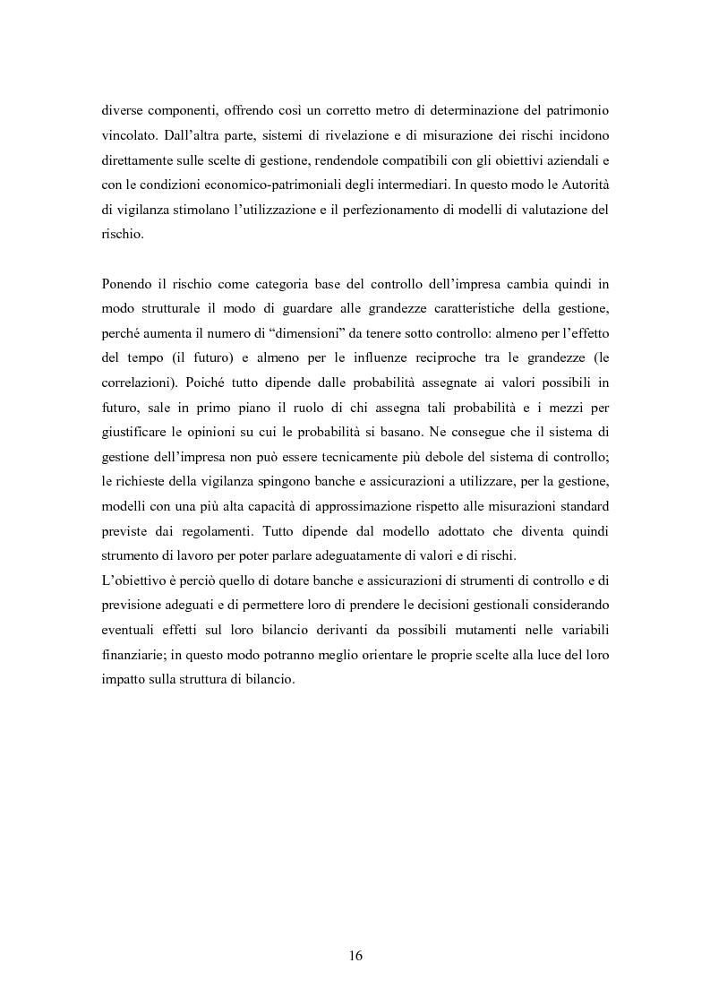 Anteprima della tesi: Stima del capitale sotto rischio di assicurazioni e banche: le nuove normative europee a confronto, Pagina 12