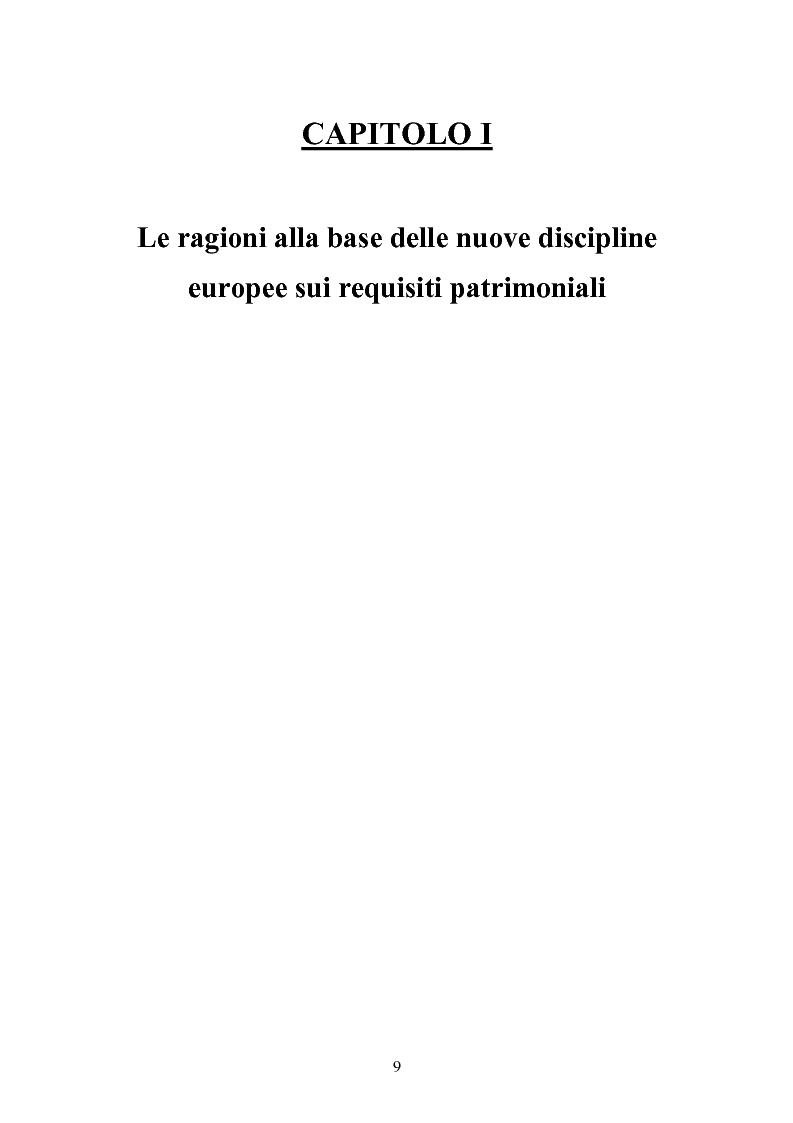 Anteprima della tesi: Stima del capitale sotto rischio di assicurazioni e banche: le nuove normative europee a confronto, Pagina 5