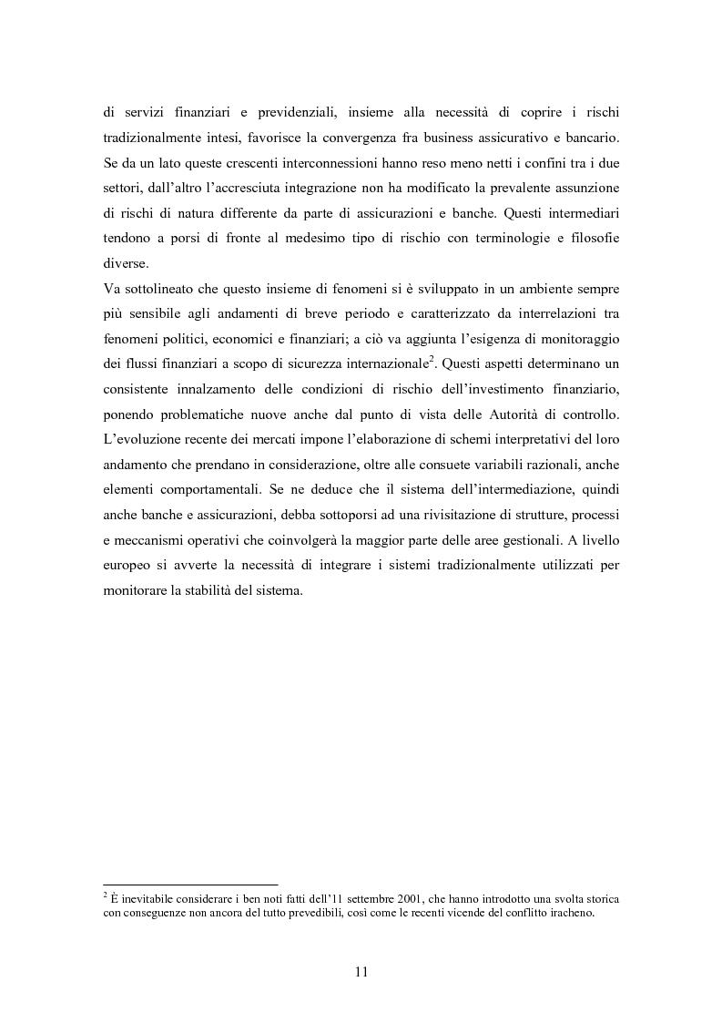 Anteprima della tesi: Stima del capitale sotto rischio di assicurazioni e banche: le nuove normative europee a confronto, Pagina 7