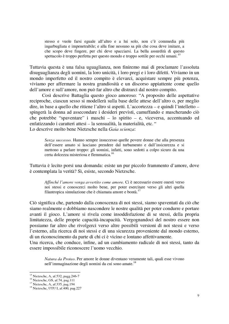 Anteprima della tesi: La morale di Nietzsche, Pagina 13