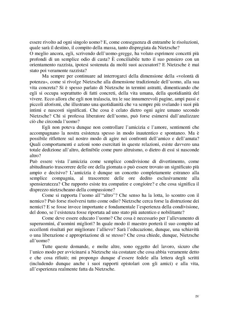 Anteprima della tesi: La morale di Nietzsche, Pagina 4