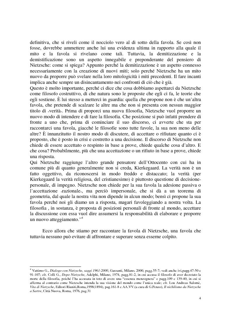 Anteprima della tesi: La morale di Nietzsche, Pagina 8