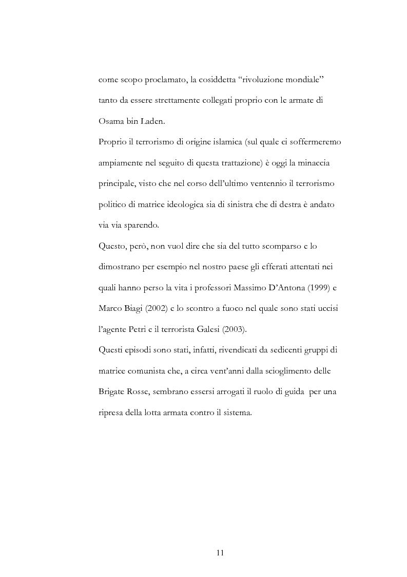 Anteprima della tesi: Geopolitica del terrorismo: rassegna di dati recenti., Pagina 11