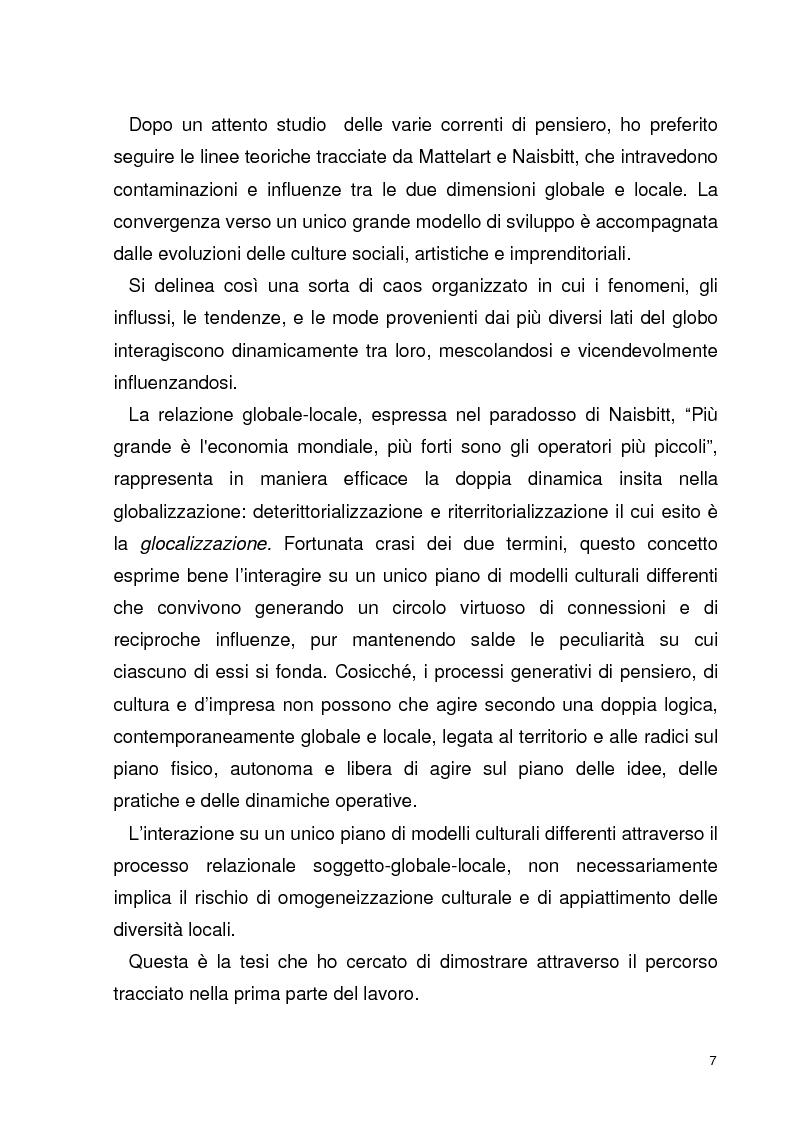 Anteprima della tesi: La globalizzazione della comunicazione pubblicitaria: le campagne internazionali, Pagina 2