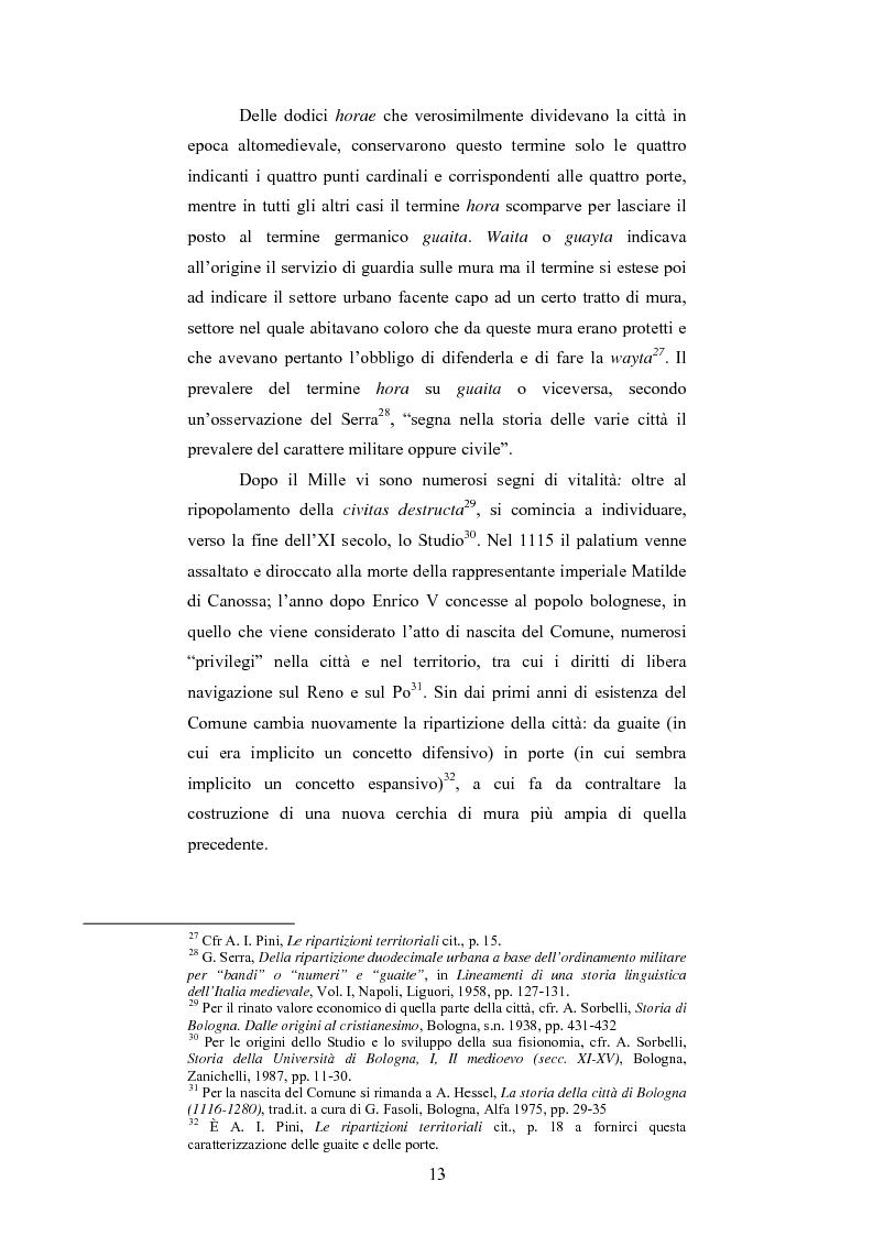 Anteprima della tesi: La Sala Borsa di Bologna: tra funzione urbanistica e ruolo pubblico, Pagina 13