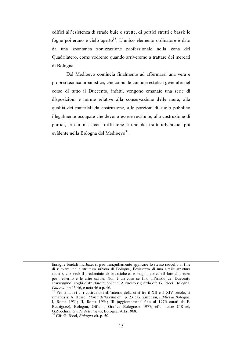 Anteprima della tesi: La Sala Borsa di Bologna: tra funzione urbanistica e ruolo pubblico, Pagina 15