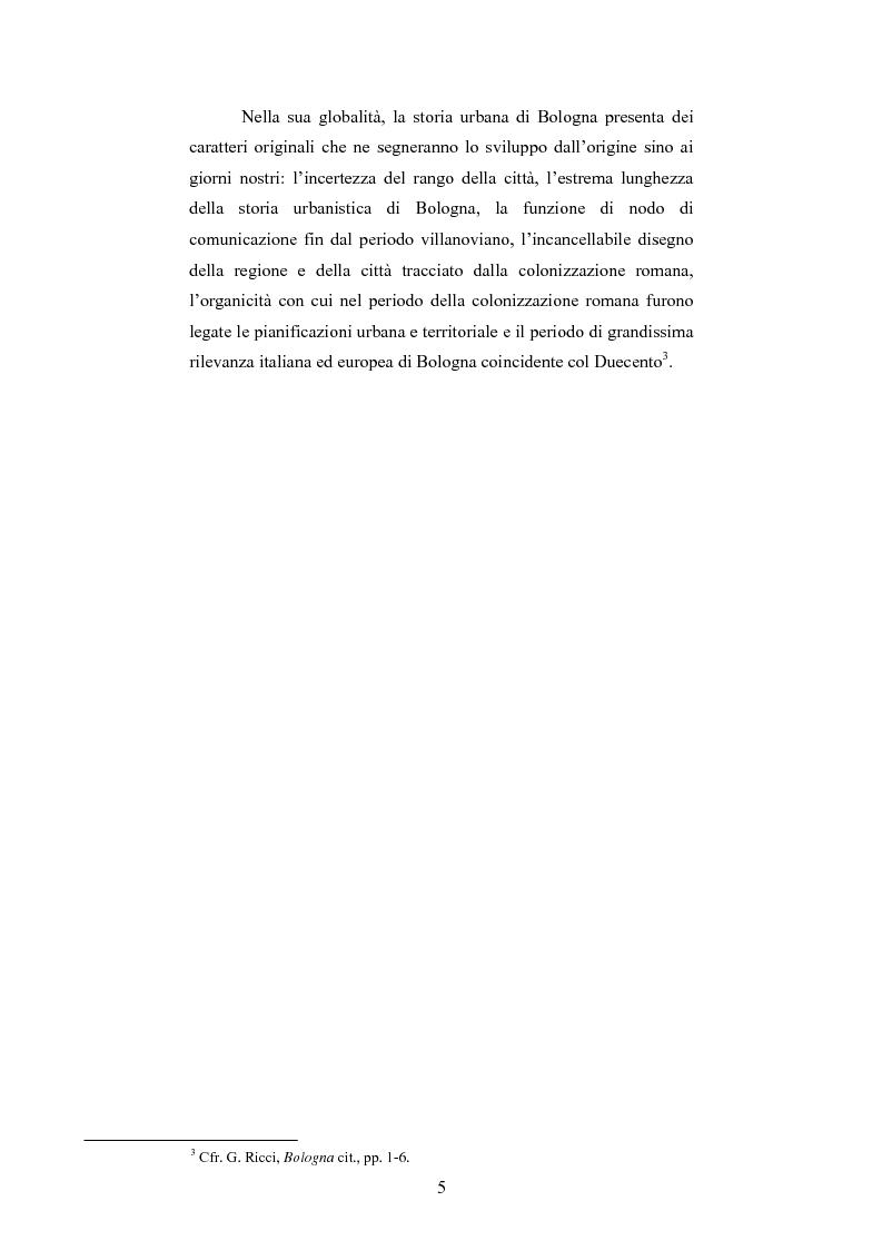 Anteprima della tesi: La Sala Borsa di Bologna: tra funzione urbanistica e ruolo pubblico, Pagina 5