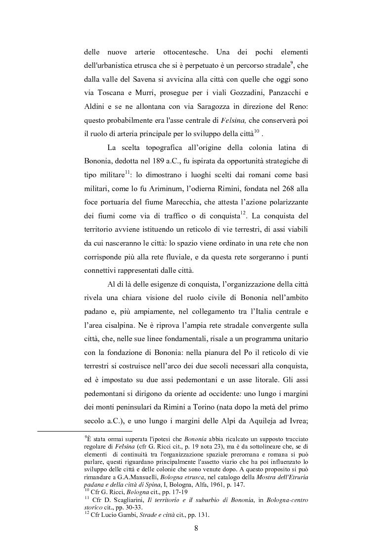 Anteprima della tesi: La Sala Borsa di Bologna: tra funzione urbanistica e ruolo pubblico, Pagina 8