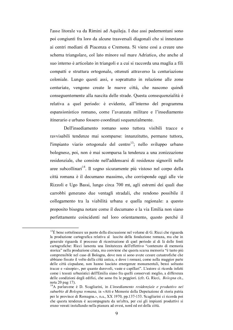 Anteprima della tesi: La Sala Borsa di Bologna: tra funzione urbanistica e ruolo pubblico, Pagina 9