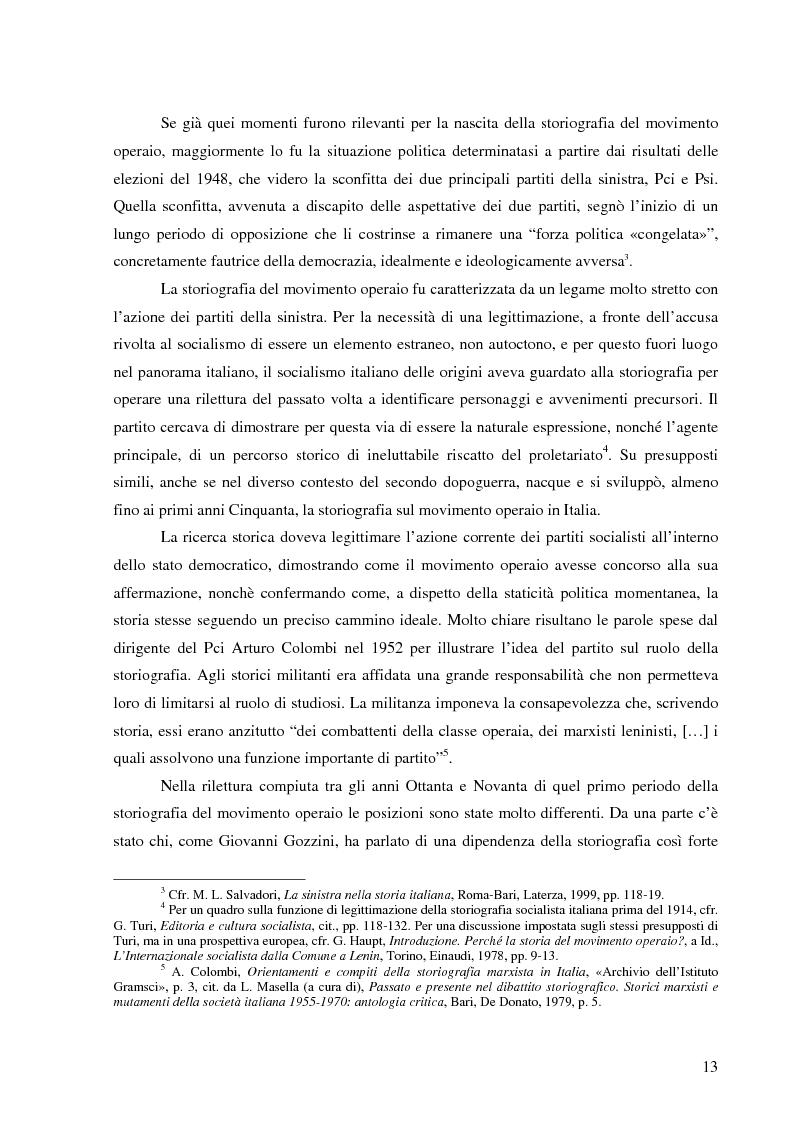 Anteprima della tesi: Socialismo e cultura in Italia nel periodo della Seconda Internazionale, Pagina 10