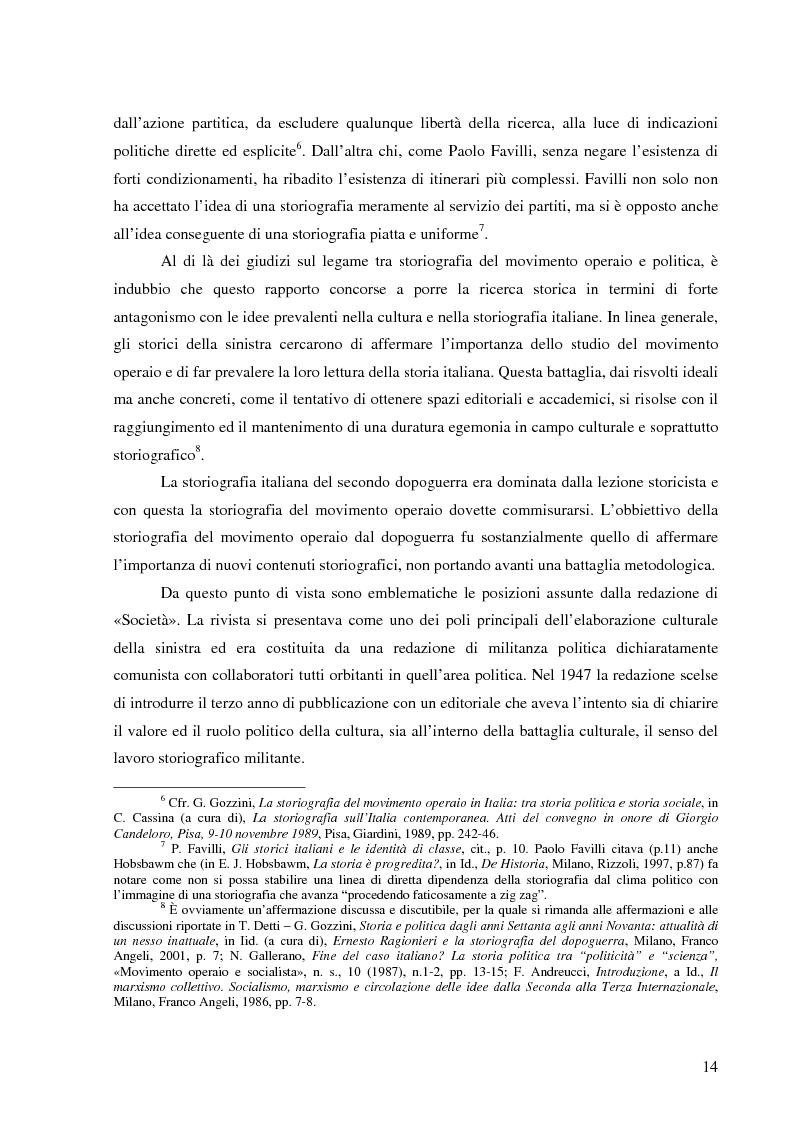 Anteprima della tesi: Socialismo e cultura in Italia nel periodo della Seconda Internazionale, Pagina 11