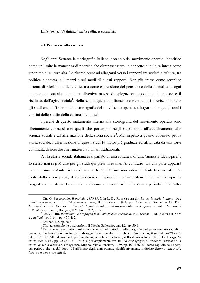 Anteprima della tesi: Socialismo e cultura in Italia nel periodo della Seconda Internazionale, Pagina 13