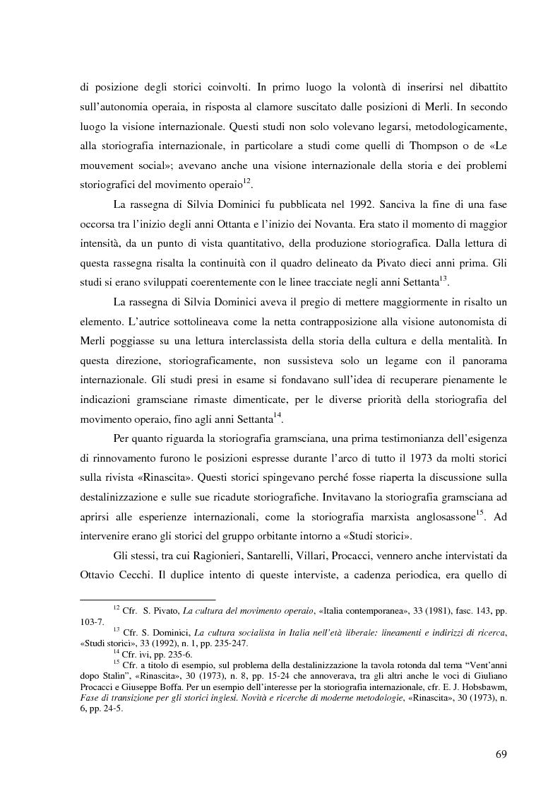 Anteprima della tesi: Socialismo e cultura in Italia nel periodo della Seconda Internazionale, Pagina 15