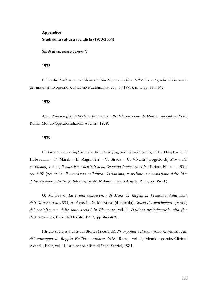 Anteprima della tesi: Socialismo e cultura in Italia nel periodo della Seconda Internazionale, Pagina 16