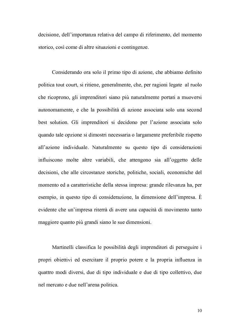 Anteprima della tesi: Politica e capitalismo industriale, Pagina 8