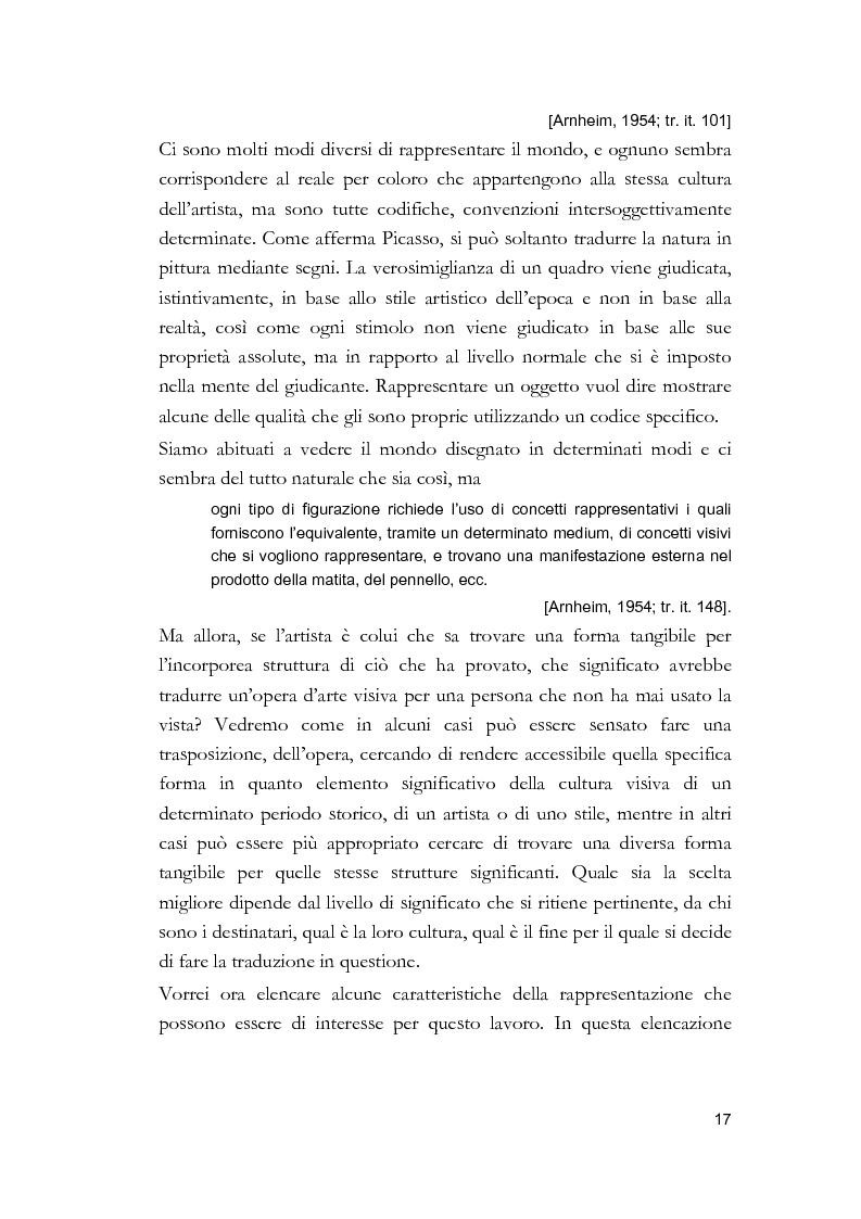 Anteprima della tesi: Arti visive per non vedenti, Pagina 11