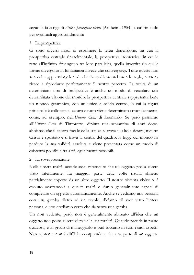 Anteprima della tesi: Arti visive per non vedenti, Pagina 12