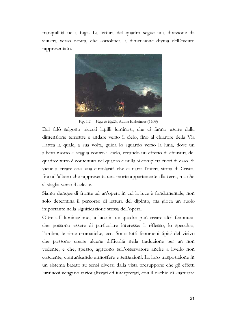 Anteprima della tesi: Arti visive per non vedenti, Pagina 15