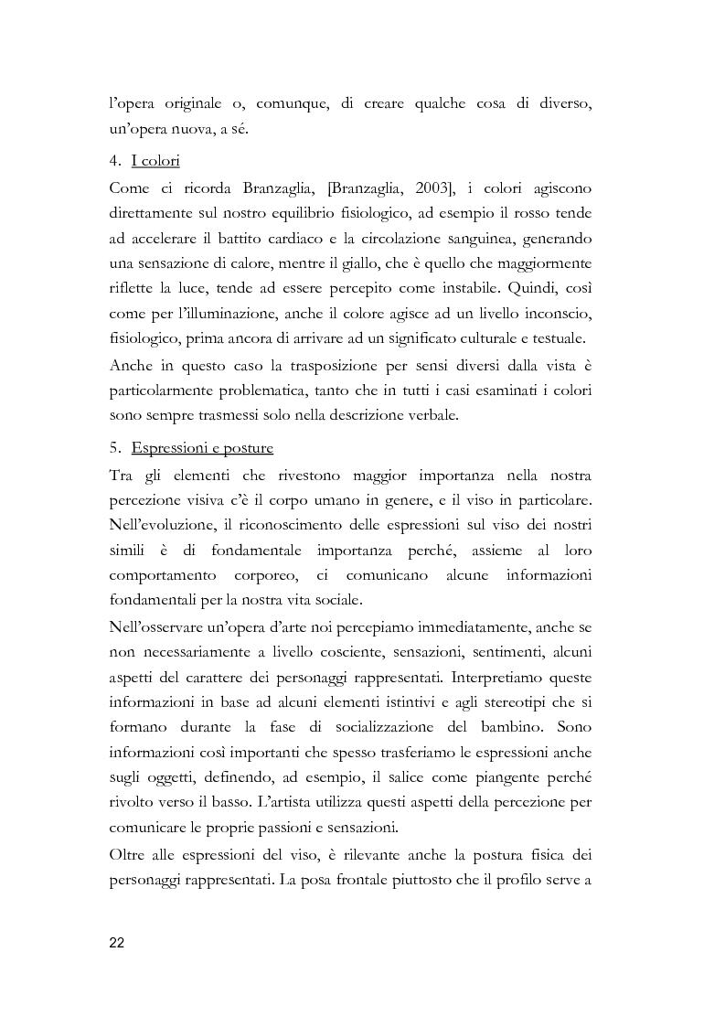 Anteprima della tesi: Arti visive per non vedenti, Pagina 16