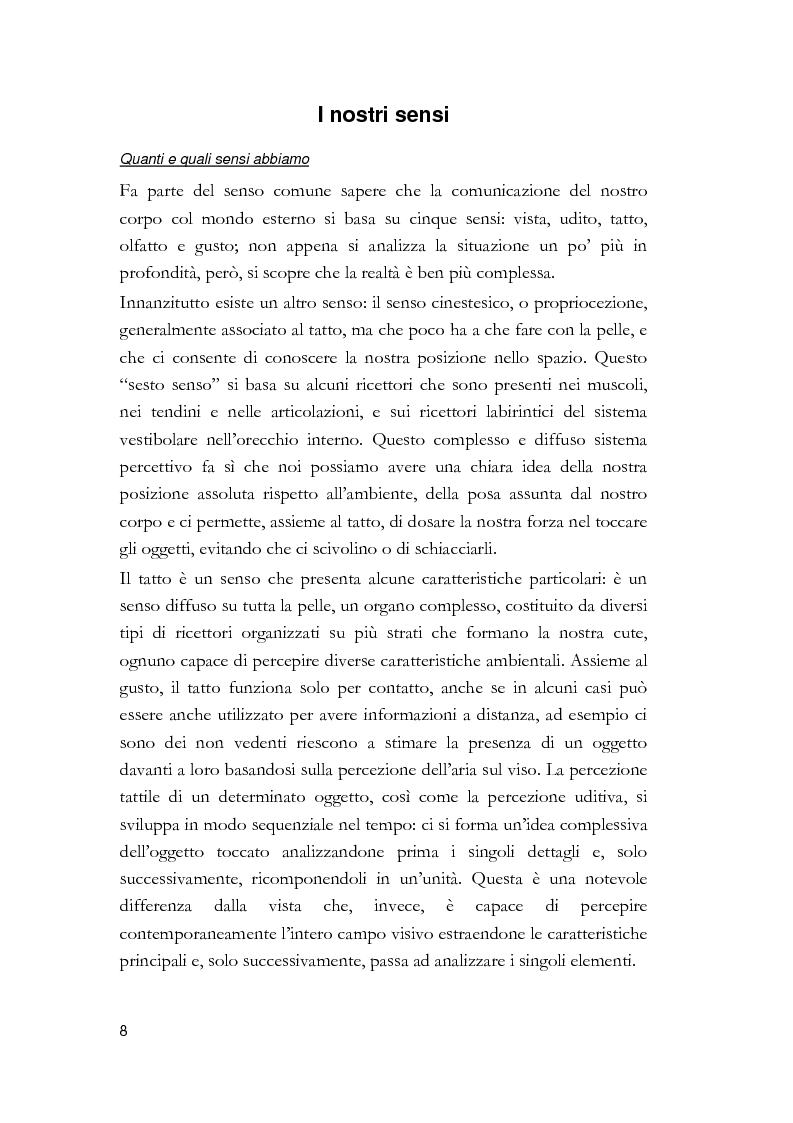 Anteprima della tesi: Arti visive per non vedenti, Pagina 2