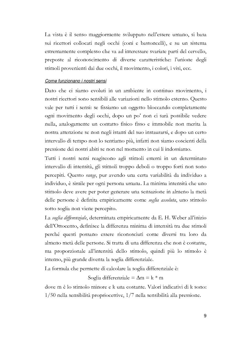 Anteprima della tesi: Arti visive per non vedenti, Pagina 3