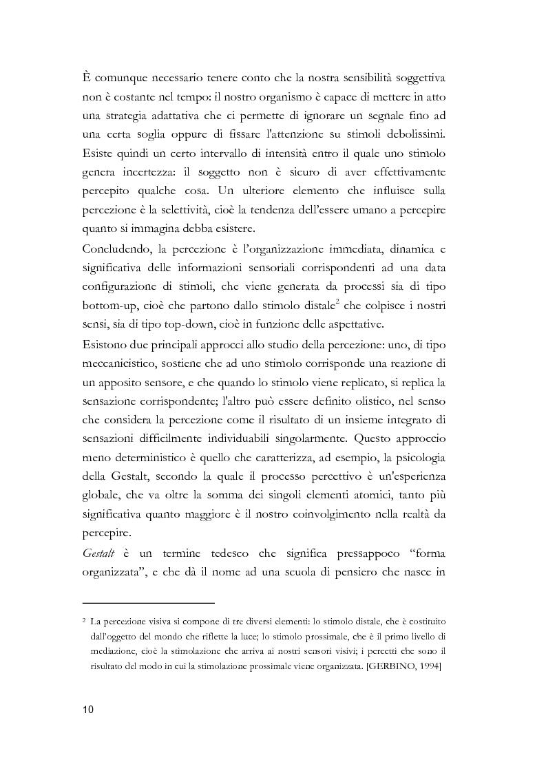 Anteprima della tesi: Arti visive per non vedenti, Pagina 4