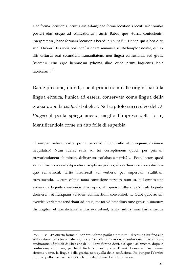 Anteprima della tesi: La lingua dei diavoli nell'Inferno dantesco, Pagina 5