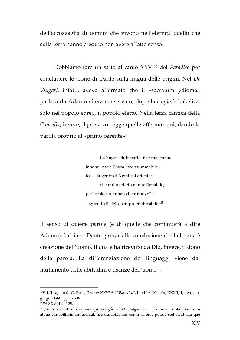 Anteprima della tesi: La lingua dei diavoli nell'Inferno dantesco, Pagina 8