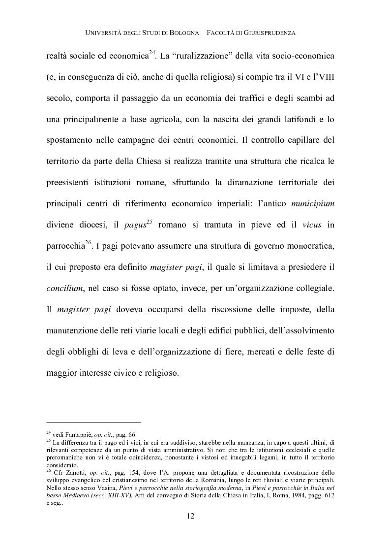 Anteprima della tesi: Il governo della parrocchia, Pagina 10