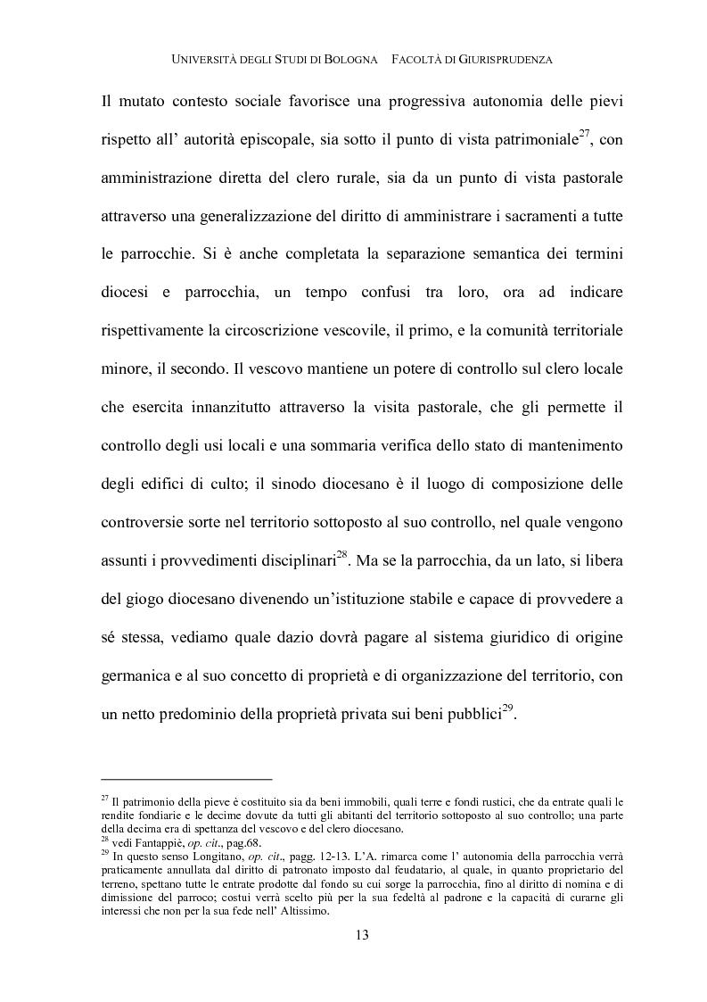 Anteprima della tesi: Il governo della parrocchia, Pagina 11