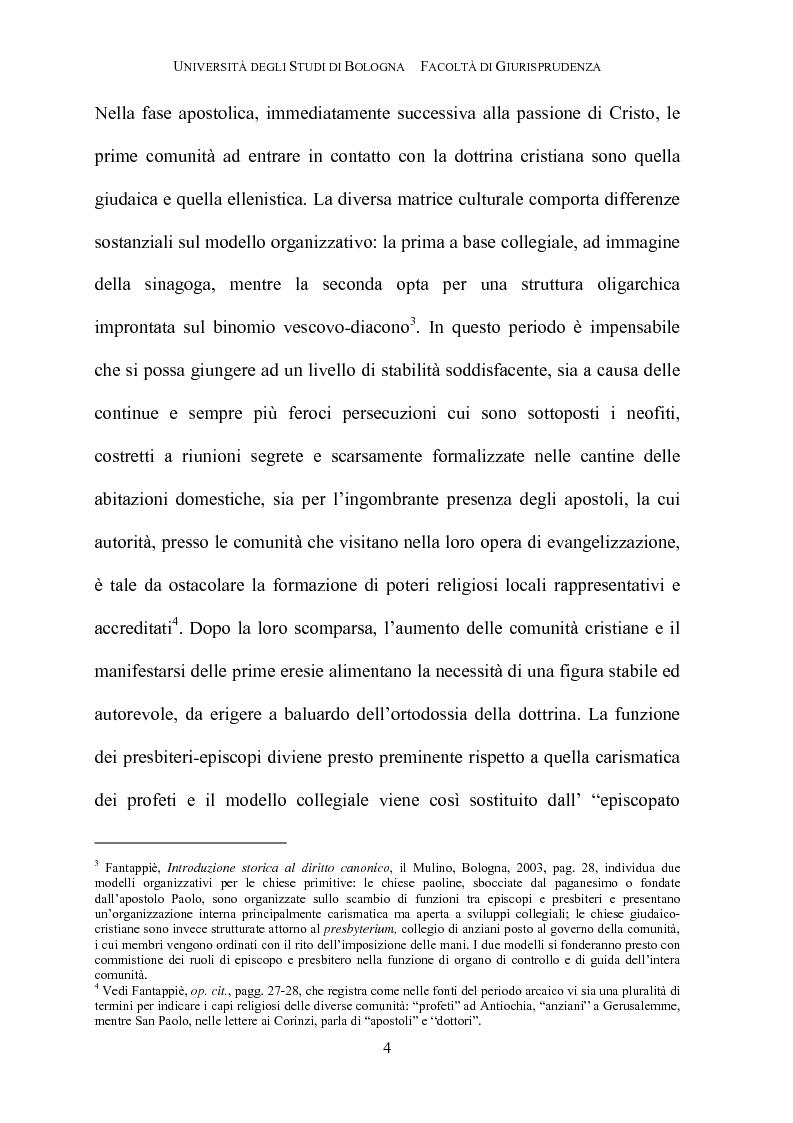 Anteprima della tesi: Il governo della parrocchia, Pagina 2