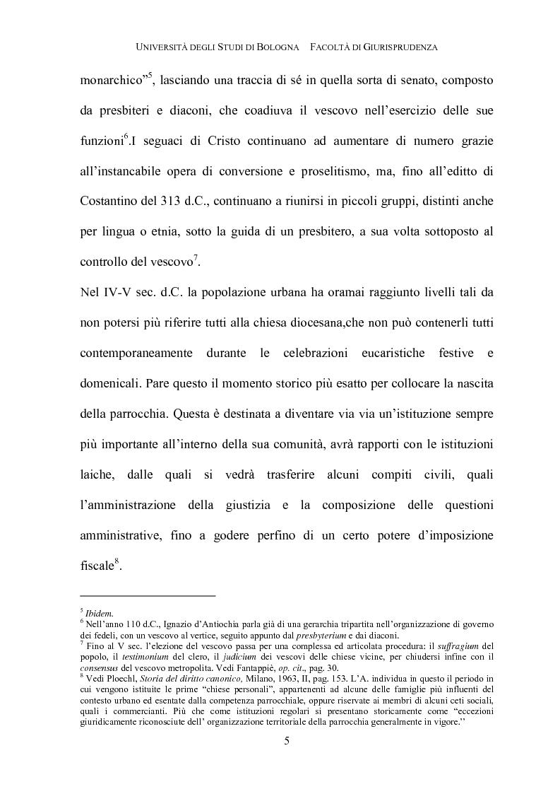 Anteprima della tesi: Il governo della parrocchia, Pagina 3