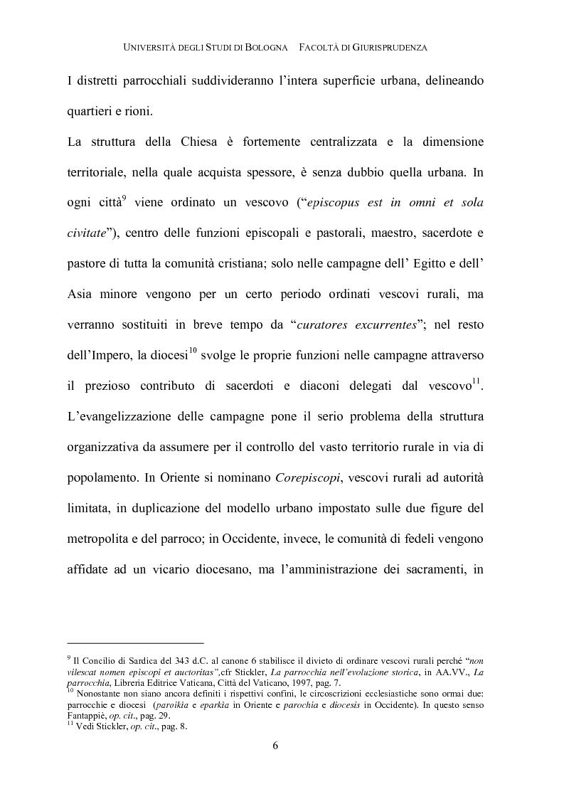 Anteprima della tesi: Il governo della parrocchia, Pagina 4