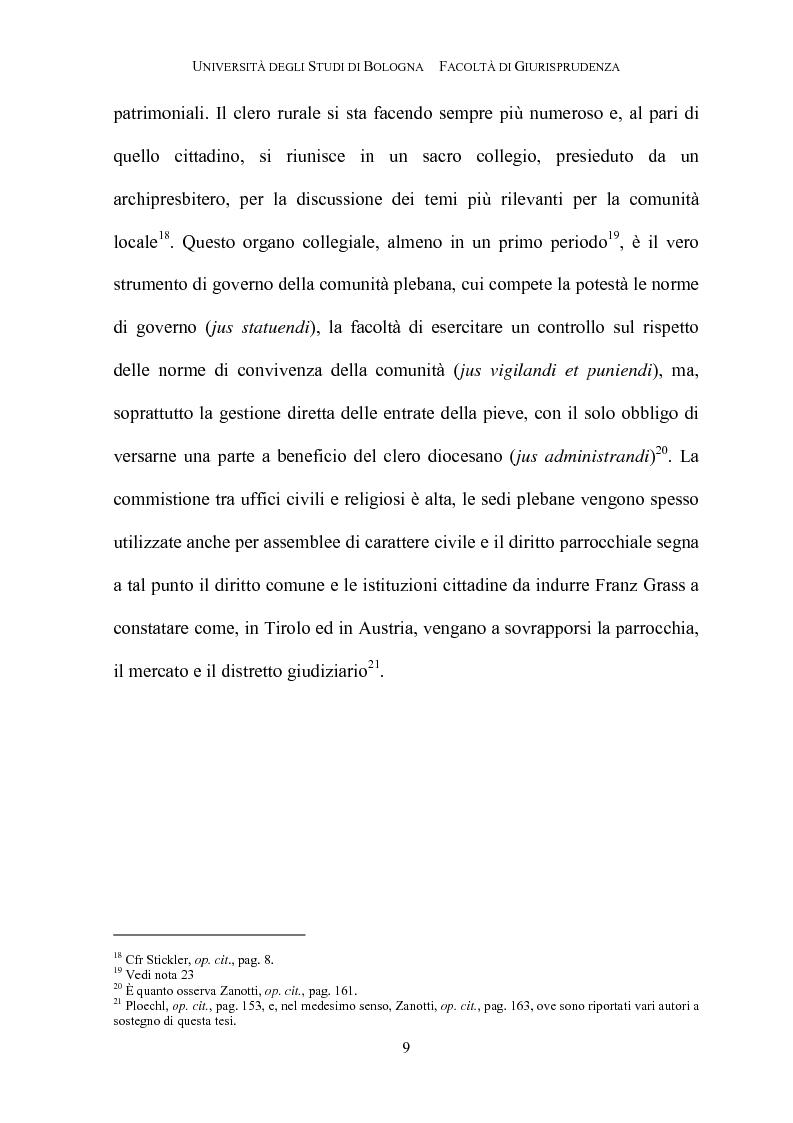 Anteprima della tesi: Il governo della parrocchia, Pagina 7