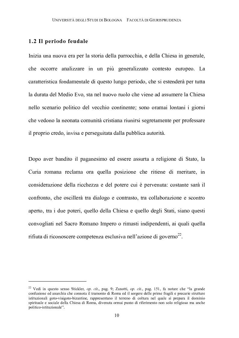 Anteprima della tesi: Il governo della parrocchia, Pagina 8
