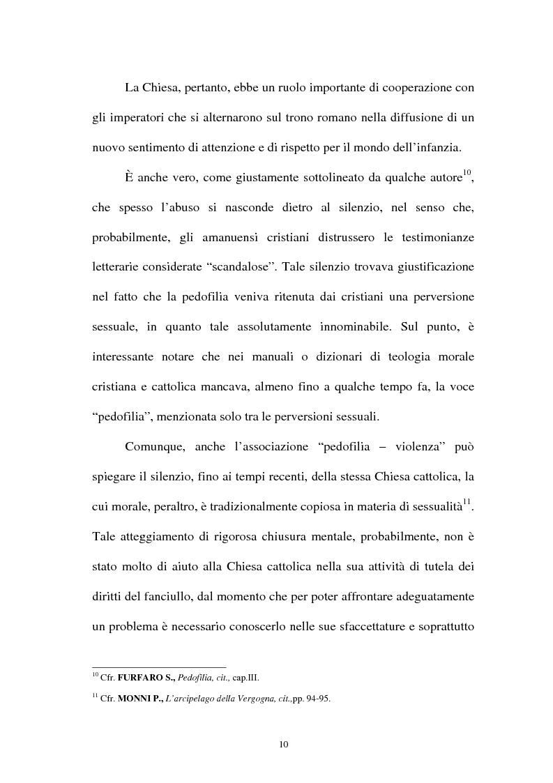 Anteprima della tesi: La pornografia minorile su Internet e le tecniche per contrastarla, Pagina 10