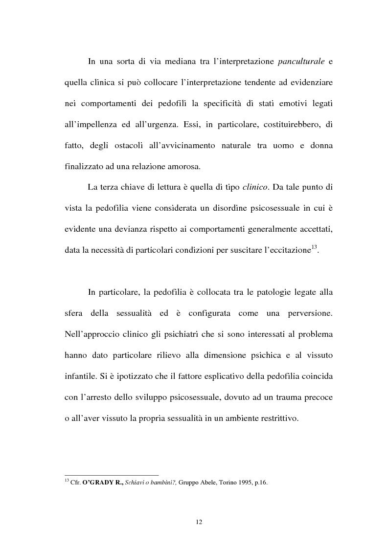 Anteprima della tesi: La pornografia minorile su Internet e le tecniche per contrastarla, Pagina 12